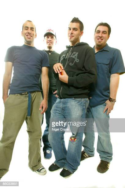 Photo of Joe HILL and ALIEN ANT FARM and Tye ZAMORA and Dryden MITCHELL LR Mike Cosgrove Joe Hill Dryden Mitchell Tye Zamora