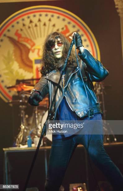 Photo of Joey RAMONE and RAMONES, Joey Ramone