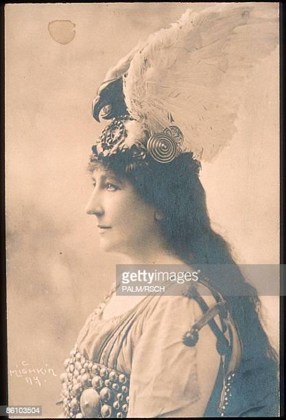Photo of Johanna GADSKI Johanna Gadski as Brunhilde