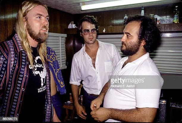 Photo of John BELUSHI and Dan ACKROYD and Gregg Allman with Dan Ackroyd John Belushi