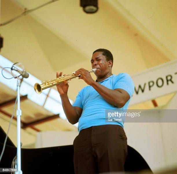 FESTIVAL Photo of John COLTRANE