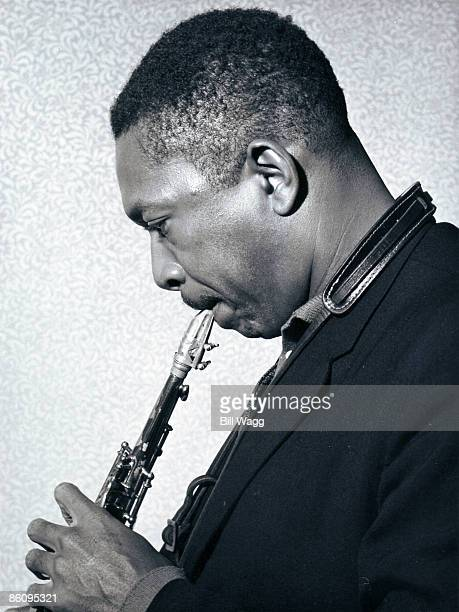 HALL Photo of John COLTRANE Portrait of John Coltrane profile