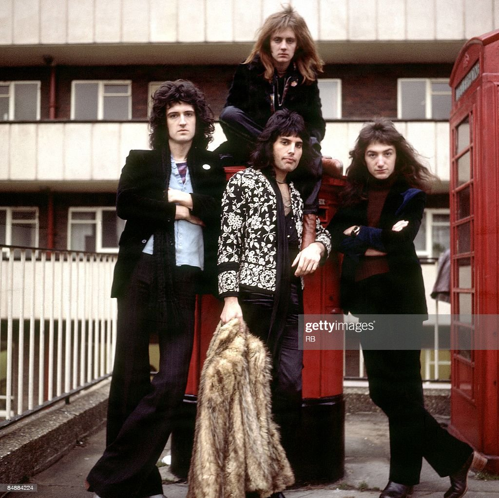Photo of John DEACON and QUEEN and Brian MAY and Roger TAYLOR and Freddie MERCURY : News Photo