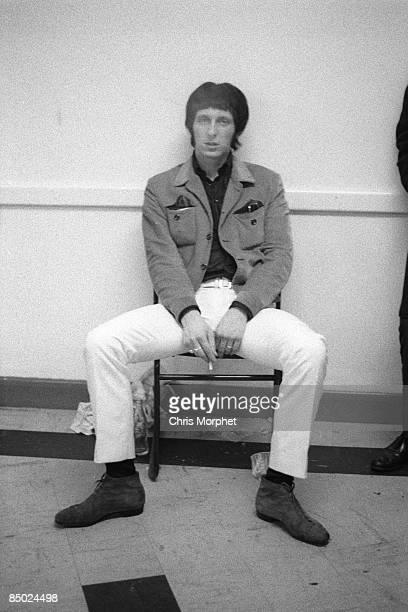 PALAIS Photo of John ENTWISTLE and The Who John Entwistle posed backstage