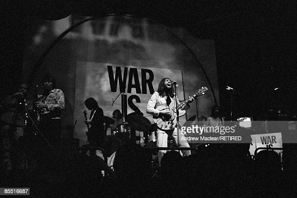 LYCEUM Photo of John LENNON John Lennon performing on stage with the Plastic Ono Band at UN Childrens Fund concert
