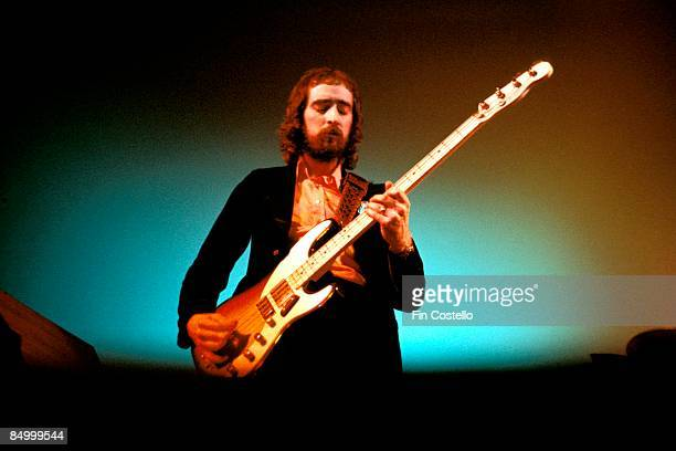 SUNDOWN Photo of John McVIE and FLEETWOOD MAC John McVie performing live onstage at Sundown Mile End