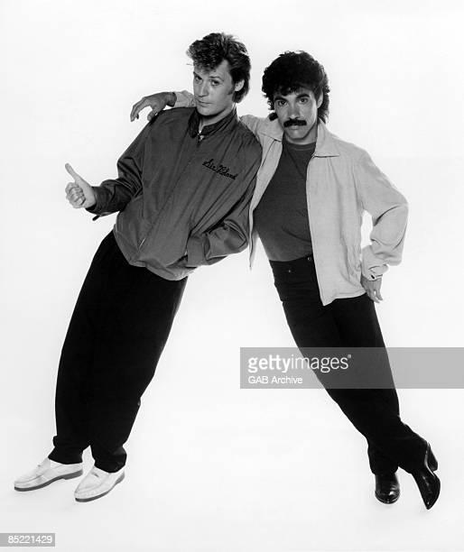 STUDIO Photo of John OATES and Daryl HALL and HALL OATES Daryl Hall John Oates