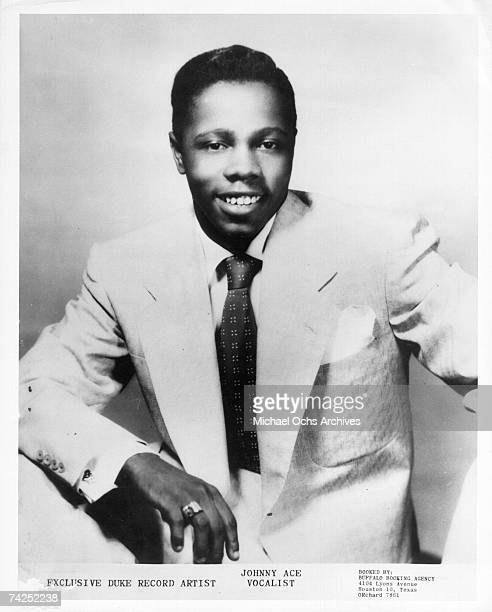 Photo of Johnny Ace Photo by Michael Ochs Archives/Getty Images