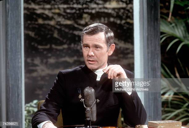 Photo of Johnny Carson Photo by Michael Ochs Archives/Getty Images