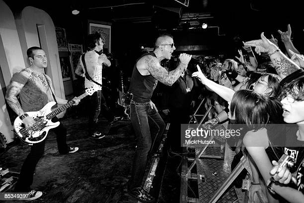 CLUB Photo of Johnny CHRIST and M SHADOWS and Synyster GATES and AVENGED SEVENFOLD Johnny Christ Synyster Gatess and M Shadows performing live...