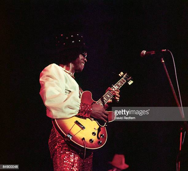 ODEON Photo of Johnny Guitar WATSON Johnny Guitar Watson performing on stage