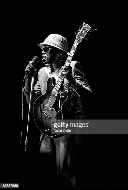CLUB Photo of Johnny Guitar WATSON Johnny 'Guitar' Watson performing on stage