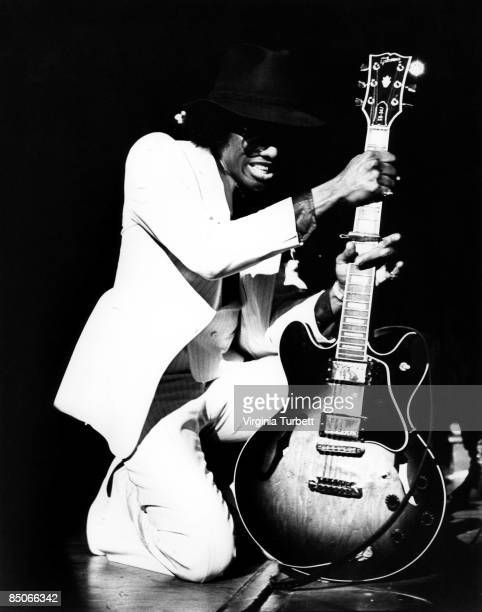 Photo of Johnny Guitar WATSON Performing on stage