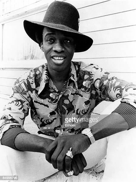 Photo of Johnny Guitar WATSON Posed portrait of Johnny 'Guitar' Watson