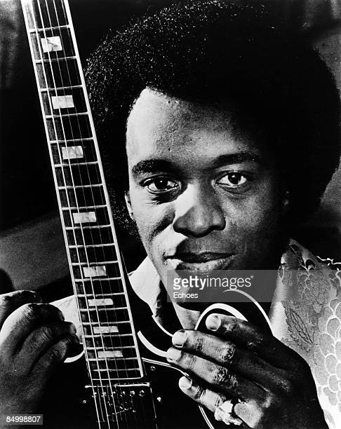 Photo of Johnny Guitar WATSON Posed studio portrait of Johnny 'Guitar' Watson