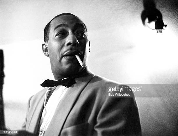 Photo of Johnny HODGES at the Shrine Auditorium