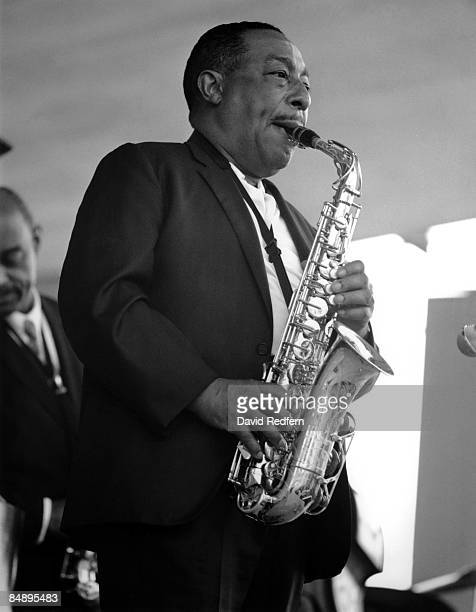 Photo of Johnny HODGES Jazz saxophonist Johnny Hodges performing on stage