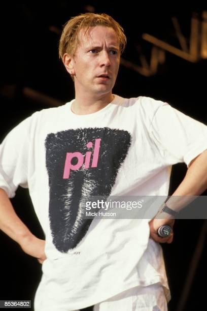 Photo of Johnny ROTTEN and PUBLIC IMAGE LTD and PIL and John LYDON