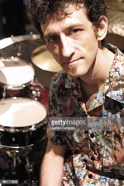 S BUSH EMPIRE Photo of Jojo MAYER Portrait of drummer