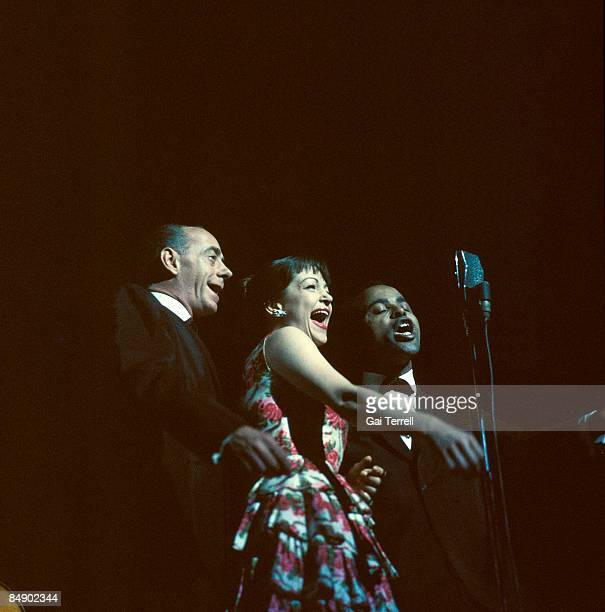 Photo of Jon HENDRICKS and LAMBERT HENDRICKS ROSS and Dave LAMBERT and Annie ROSS Dave Lambert Annie Ross Jon Hendricks