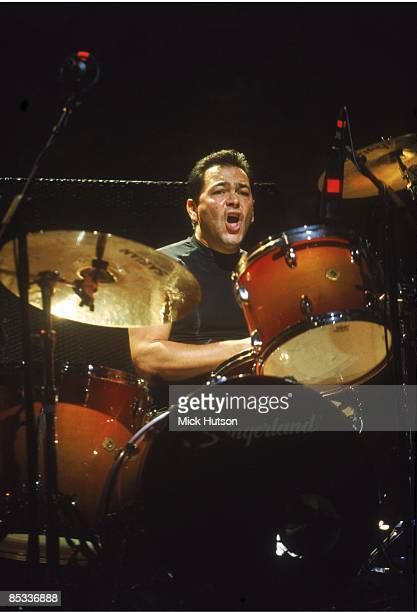 Photo of Jon MOSS and CULTURE CLUB Drummer Jon Moss performing on stage