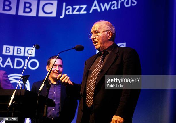 AWARDS Photo of Jools HOLLAND and Clive JAMES w/Jools Holland