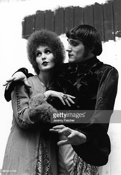 Photo of Julie DRISCOLL and Brian AUGER Posed studio portrait of Julie Driscoll and Brian Auger