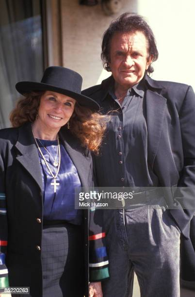 USA Photo of June CARTER and Johnny CASH Portrait of Johnny Cash with wife June Carter Cash