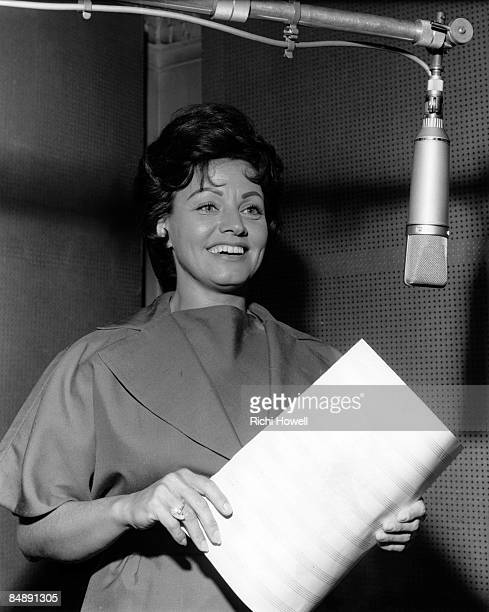 Photo of Kay STARR, In a recording studio