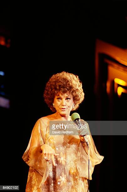 Photo of Kay STARR; Kay Starr performing on stage