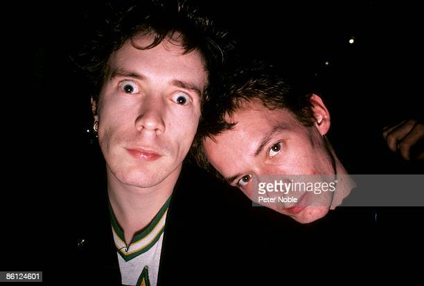 Photo of Keith LEVENE and John LYDON and PUBLIC IMAGE LTD John Lydon Keith Levene