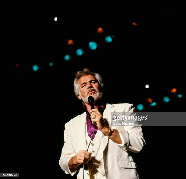 Photo of Kenny ROGERS Kenny Rogers performing on stage
