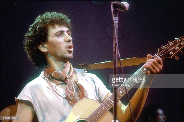 Photo of Kevin ROWLAND and Dexys MIDNIGHT RUNNERS Kevin Rowland of Dexys Midnight Runners performing at The Venue London in 1982