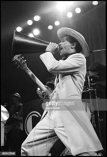 LYCEUM Photo of KID CREOLE THE COCONUTS Kid Creole performing on stage