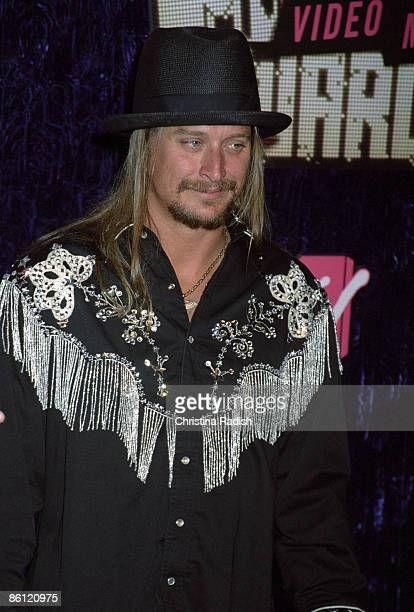 Photo of KID ROCK Kid Rock arriving at the MTV Video Music Awards held at the Palms Casino Resort in Las Vegas