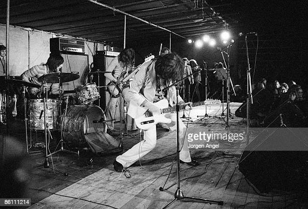 FESTIVAL Photo of KINKS The Kinks Ray Davies 1972 Roskilde Festival Denmark