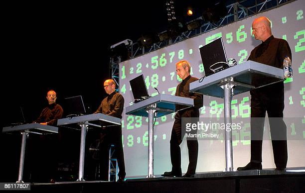 OUT Photo of KRAFTWERK Kraftwerk Big Day Out Melbourne Australia