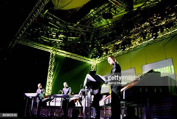 Photo of KRAFTWERK Roskilde MusikFestivalKraftwerk live in concert in action