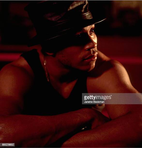 Photo of L L Cool J LL Cool J studio portrait
