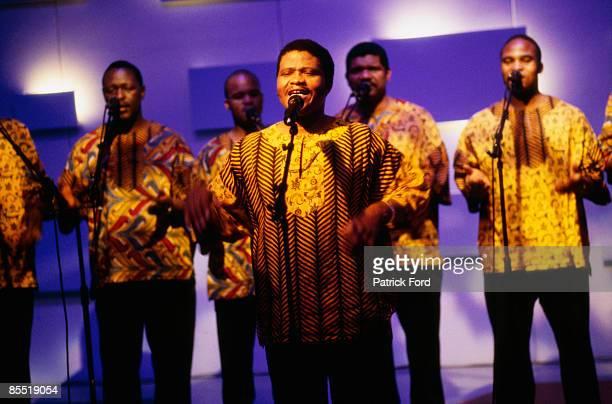 VH1 Photo of LADYSMITH BLACK MAMBAZO Group performing on stage