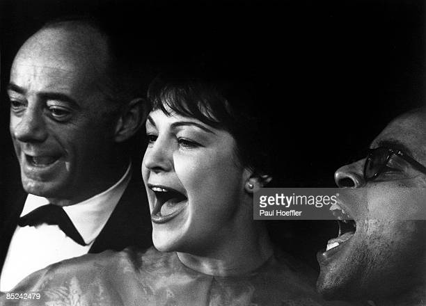 Photo of LAMBERT HENDRICKS ROSS Event Rochester NY 1959 Artist Dave Lambert Jon Hendricks Annie Ross