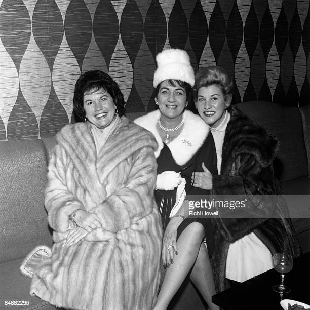 Photo of LaVerne ANDREWS and ANDREWS SISTERS and Patty ANDREWS and Maxene Anglyn ANDREWS LR Maxene Anglyn Andrews LaVerne Andrews Patty Andrews