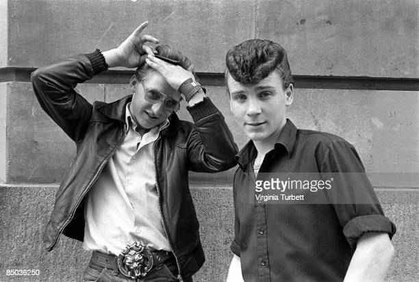 Photo of LEATHER JACKET and 80'S STYLE and ROCKABILLY and STREET STYLE