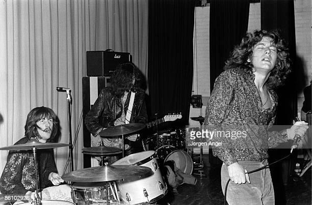 Photo of LED ZEPPELIN Led Zeppelin March 1969 Copenhagen Denmark