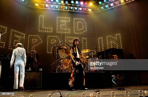 John Paul Jones Jimmy Page performing live onstage