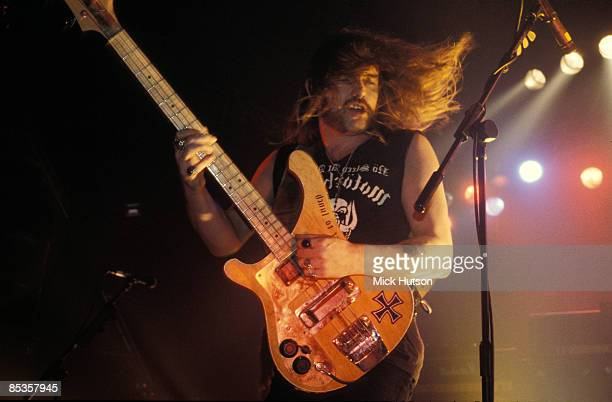 Photo of LEMMY and MOTORHEAD Lemmy performing live on stage
