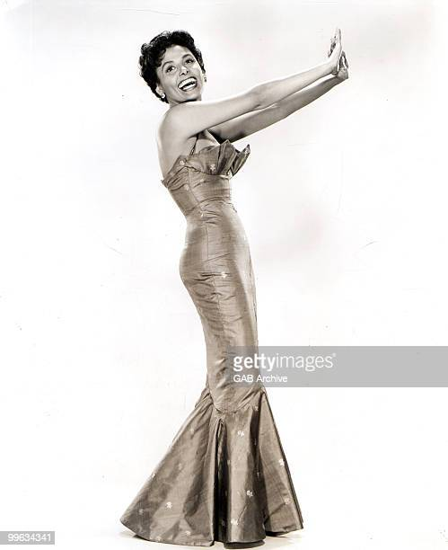 Photo of Lena HORNE; Lena Horne posed in 1955 during filming of 'Meet Me In Las Vegas' released by MGM in 1956
