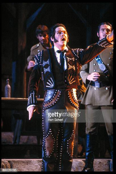 Photo of Lenus CARLSON and CARMEN and OPERA and OPERA SINGER; Lenus Carlson as Escamillo. Production: Jean Pierre Ponnelle. Director: Vera Lucia...