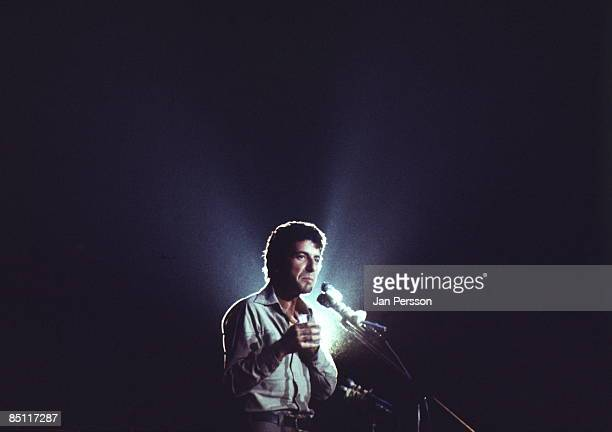 Photo of Leonard COHEN Leonard Cohen performing live onstage