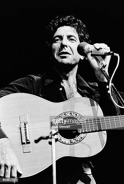 HALL Photo of Leonard COHEN performing live onstage